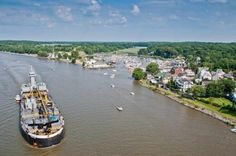 The 10 Most Beautiful Towns in Maryland. #easternshore #maryland #esmd