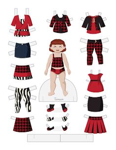 Paper Doll School: Toddler Fashion Friday - Tamsin