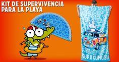 Participa y consigue este kit de Kukuxumusu para flipar en la playa