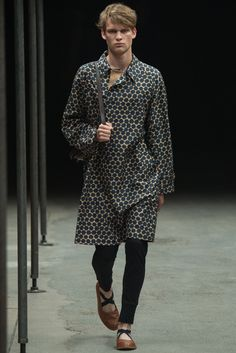Dries Van Noten - Spring 2015 Menswear - Look 10 of 52