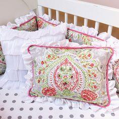 Doodlefish April Showers Decorative Pillow #tinytotties #doodlefish