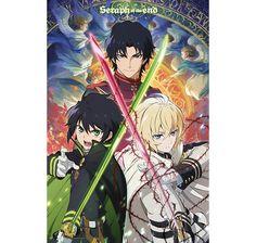 Seraph of the End Poster Trio (Vampire Reign). Hier bei www.closeup.de