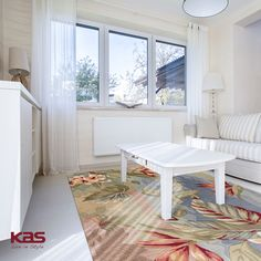 You can almost feel the gentle trade winds coming off the Coral Blue/Sage Breeze. Bring a taste of the islands to any room. http://www.kasrugs.com/product/details/COA416823X76RU | #ColorWithKAS #HomeDecor #HPMKT #LivingRoom #Design #Rug #Rugs #Coral #Islands