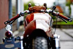 Honda CB550 Cafe Racer - Fate Customs