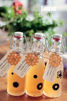Sommerfeeling: Zitronen-Brause