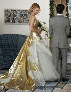 Serena and Dan: finally the big wedding! • Gossip Girl