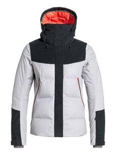roxy, Flicker Snow Jacket, Highrise-h (sgrh) Womens Snowboard Jacket, Ski And Snowboard, Snowboarding, Skiing, Vest Jacket, Nike Jacket, Roxy Ski, Surfer Girl Style, Ski Wear