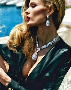 M: Edita Vilkeviciute, P: Mario Testino (Vogue Paris October 2013)