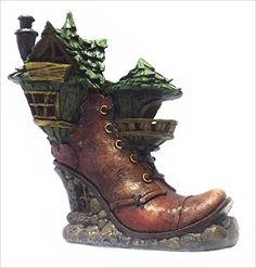 Miniature Ladies Boot Fairy House: Amazon.ca: Books