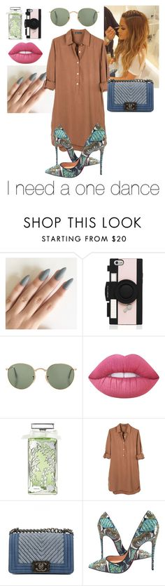 """""""thats why i need a one dance..... (drake)"""" by noags ❤ liked on Polyvore featuring Kate Spade, Lime Crime, Guerlain, United by Blue, Chanel and Christian Louboutin"""