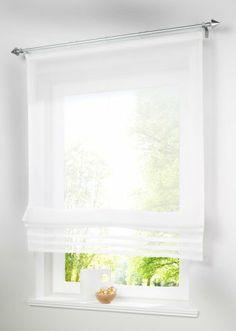 Eine Hauchzarte Idee Für Ihr Fenster: Das Luftig Leichte Raffrollo