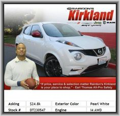 2013 Nissan JUKE S Wagon  Multi-Link Rear Suspension, Overall Length: 162.4, Fuel Capacity: 11.8 Gal., Abs And Driveline Traction Control, Permanent Locking Hubs, In-Dash Single Cd Player, Leather/Metal-Look Shift Knob Trim, Steel Spare Wheel Rim, Body-Colored/Metal-Look Center Console Trim, Intercooled Turbo, Metal-Look/Piano Black Dash Trim, Audio Controls On Steering Wheel, Rear Door Type: Liftgate, Body-Colored Door Trim, Strut Front Suspension, 4-Wheel Abs Brakes