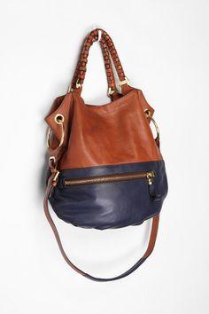 6e7503d882fa Oryany Two-Tone Zip Satchel Backpack Bags