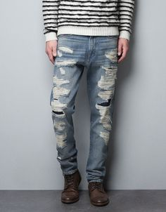 Spanish People Can't Wear Ripped Jeans