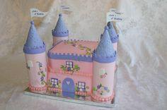 Children's Birthday Cakes - Princess Castle Birthday Cake