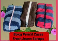 Tutorial: Boxy pencil pouch