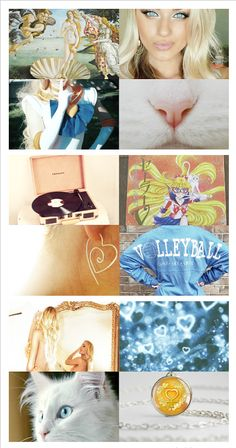 """☽ SAILOR MOON AESTHETICS ☾ - SAILOR VENUS/AINO MINAKO (愛野美奈子)      """"This is still the Age of Pisces… the time of love!! As the Goddess of Love, I won't lose to you!"""""""
