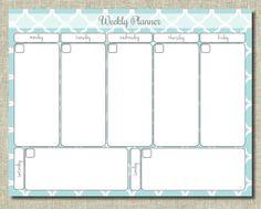 Weekly Planner Printable