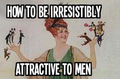 How to Be Irresistibly Attractive to Men --- Are you wondering why some women attracts men like magnet? Those women know the secret on how to be irresistibly attractive to men and know how to get the kind of relationship they've always wanted from the right kind of man. Being attractive is not an instant magic but it is something that can be learned. #dating #attractmen #love