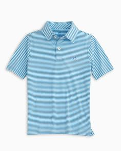 Boys Ryder Bramble Striped Performance Polo Shirt | Southern Tide Sports Shirts, Polo Shirts, Summer Family Portraits, Southern Clothing Brands, Preppy Boys, White Brand, Boy Outfits, Summer Sun, Polo Ralph Lauren