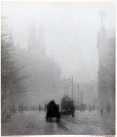 Bernard Eilers. The light still lingers. Amsterdam, ca. 1910
