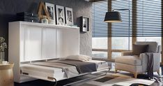 [QUESTION] How do you build a DIY murphy bed? What is the process to build a murphy bed? [ANSWER] The Murphy bed is a cross between a cabinet and a bed. It is commonly referred to as a pull-down bed, wall bed or fold-down bed. Build A Murphy Bed, Queen Murphy Bed, Murphy Bed Plans, Full Size Murphy Bed, Murphy Bed With Sofa, Wall Folding Bed, Camas Murphy, Murphy-bett Ikea, Horizontal Murphy Bed