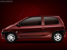 Renault Twingo - AUTO - CAR - AUTOMOVIL - TUNING - Modificado - BORDO - PLATEADO @MALBRAN