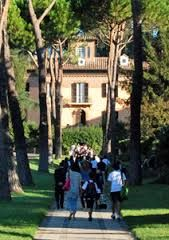 Marymount International School Rome, the Villa building