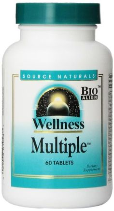 Source Naturals Wellness Multiple 60 Tablets *** Read more reviews of the product by visiting the link on the image.