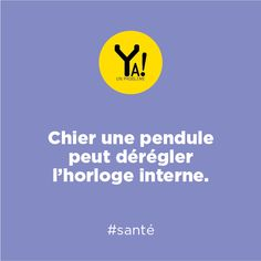 Ya un problème ! #sante