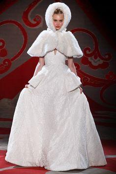 Ulyana Sergeenko Fall 2012 Couture Fashion Show - Nastya Kusakina (Women)