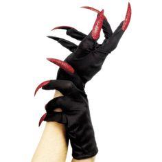Lange Fingernägel Böse Hexen Handschuhe f. Damen Zauberin Hexenkostüm Halloween in Kleidung & Accessoires, Kostüme & Verkleidungen, Accessoires | eBay