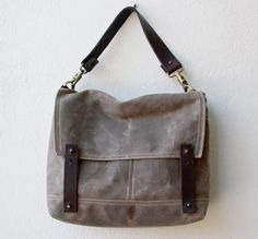 R&T Waxed Canvas Field Bag by MimsMaine