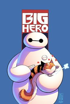 Baymax by J-Skipper.deviantart.com on @DeviantArt