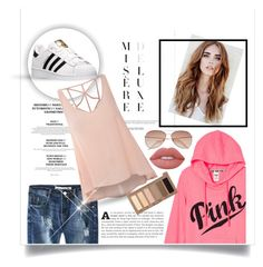 """""""Untittled #1"""" by annabelle-477 ❤ liked on Polyvore featuring Glamorous, adidas, H&M, Urban Decay and Lime Crime"""