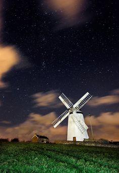 Ballycopeland Windmill in County Down,  Ireland | TrekEarth