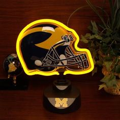Michigan Wolverines Neon Helmet Light