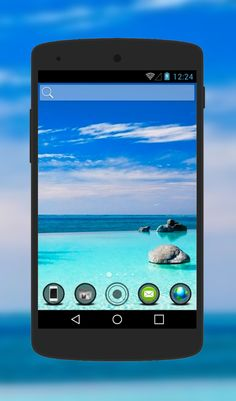 """""""Maldives"""" Android Theme. Free download  http://androidlooks.com/theme/t1450-maldives/   #Maldives, #android, #androidTheme,  #nature, #soloLauncher"""