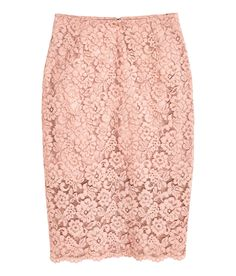 Lace Pencil Skirt | Party in H&M