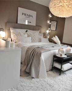 Room Ideas Bedroom, Small Room Bedroom, Home Decor Bedroom, Master Bedroom, Bedroom Furniture, Queen Bedroom, Ikea Bedroom, Bedroom Wall, Bedroom Quotes