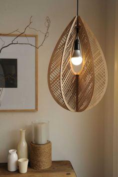 Home decor em 2019 lighting, lamp design e lighting design. Big Design, Wood Design, Interior Lighting, Lighting Design, Modern Lighting, Laser Cut Lamps, Lampe Art Deco, Luminaire Design, Wooden Lamp