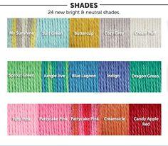 Bernat Softee Chunky yarn  #color #blue #gold #gray #white