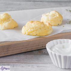 Wolkenbroodjes of cloud breads zoals ze ook vaak genoemd worden is een koolhydraat arm recept. Lekker makkelijk en luchtig.