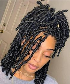 Feed In Braids Hairstyles, Faux Locs Hairstyles, Girls Natural Hairstyles, Twist Braid Hairstyles, Twist Braids, Messy Hairstyles, Black Braided Hairstyles, Ladies Hairstyles, Braids For Long Hair