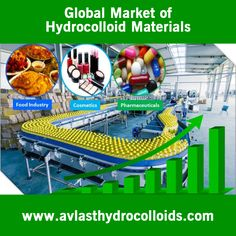 Hydrocolloid is a kind of substance that creates a gel with the help of water and it is widely used in various industries including the industry of processed food. Hydrocolloid dressing is a well-known term in this industry. This is a wafer type dressing with agents that form gel in an adhesive compound. The raise of global hydrocolloid market depends on the development of processed food industry to a great extent. To know more, visit at…