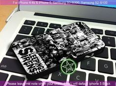 Sleeping With Sirens iPhone 4/4S/5, Samsung S4/S3/S2 cover cases | sedoyoseneng - Accessories on ArtFire