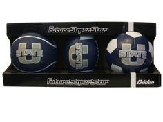 Baden 3pack USU Athletic Balls Utah State University, Balls, Athletic, Sports, Hs Sports, Athlete, Deporte, Sport