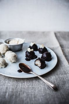 Raw Almond Joys/Mounds Bars/Bounty Balls {Vegan + Gluten Free, too} /