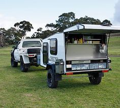 The Steel Tent is an offroad teardrop camper trailer, built to go anywhere and provide sleeping quarters in any weather.