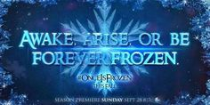 Once Upon a Time is Frozen this Fall!